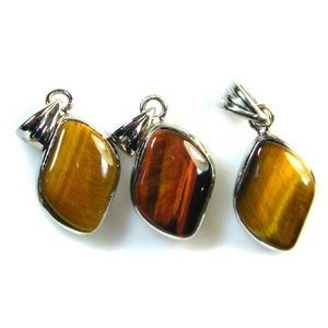Natural Tiger Eye Pendant